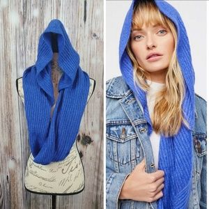 Free People Hooded Infinity Scarf NWT OS